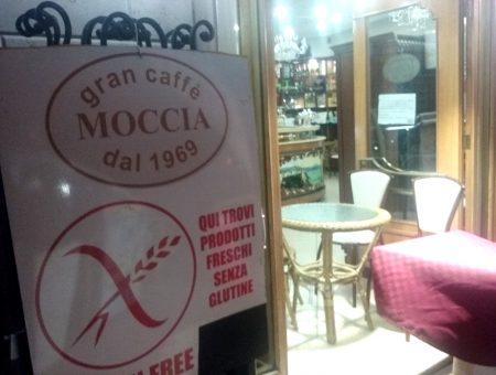 Gran Caffè Moccia, bar con cornetti senza glutine a Corso Europa