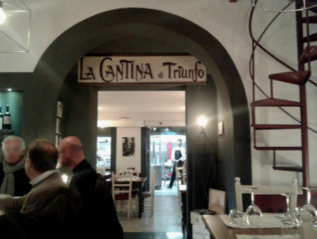 Cantina di Triunfo, ristorante gluten friendly sulla Riviera di Chiaia