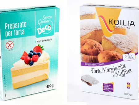 Preparato per dolci senza glutine ritirato dagli scaffali per possibile presenza di soia