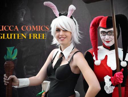 Lucca Comics 2018: Tra cosplay e fumetti con un panino senza glutine